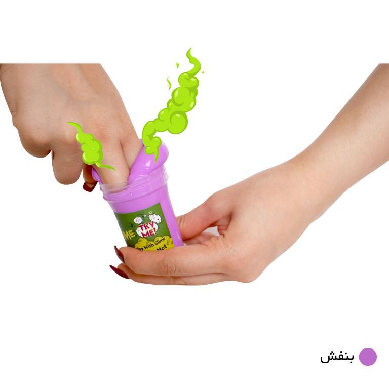 ژل بازی بی ادب صدا دار مدل Noisy Slime