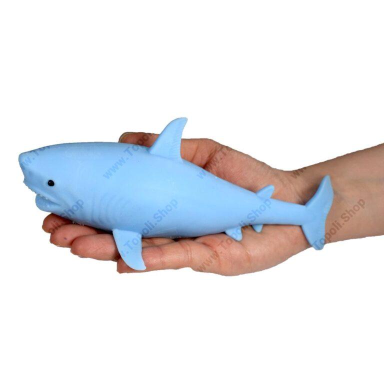 فیجت خامه ای کوسه مدل Big Shark