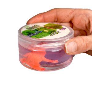 اسلایم وارداتی قورباغه مدل Frog crystal