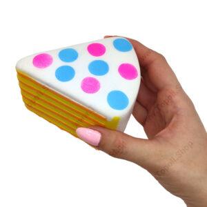 اسکویشی برش کیک رنگی